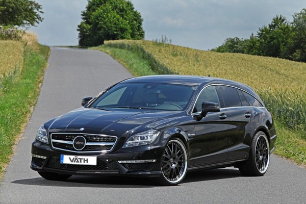 Mercedes-Benz CLS 63 AMG Shooting Brake от VATH