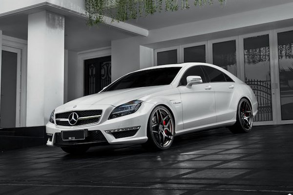 Mercedes-Benz CLS63 AMG на дисках BC Forged